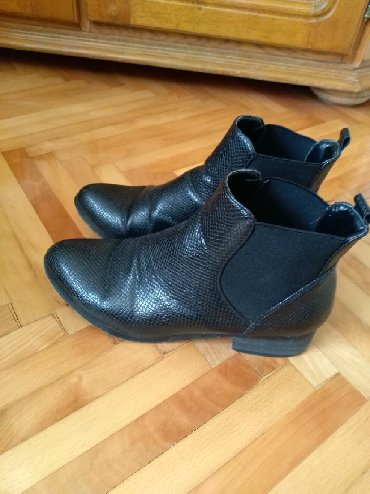Ženska obuća | Prijepolje: Cizme/duboke ravne cipele. Opozit. 38. Nosene. Bez ikakvih ostecenja