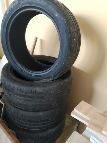 Şin və disklər Xırdalanda: SPORTMAX təkər çin istehsalı, 235/45/R17 az işlənib