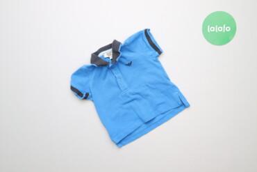 Топы и рубашки - Синий - Киев: Дитяча футболка поло Armani Baby, вік 6 міс., зріст 62 см    Довжина