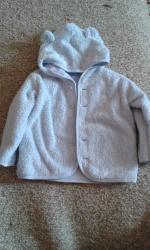 Duks jaknica sa kapuljačom Beneton baby za dečake, veličina 74!  - Ruma