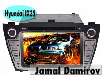 Bakı şəhərində Hyundai ix35 üçün dvd- monitor. Dvd- монитор для hyundai