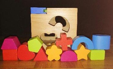 Didaktička kocka Pino toys je odlična igračka za raspoznavanje boja - Belgrade
