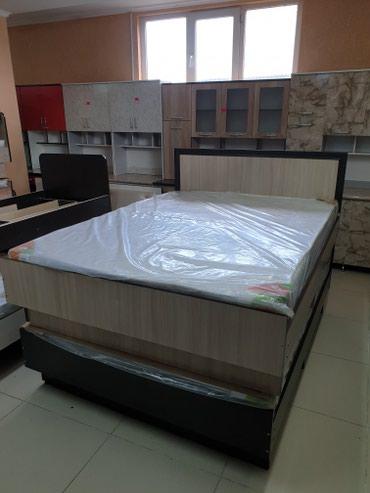 Новый кровать 2х местный качества гарантии звоните.. цена 9000с в Бишкек - фото 2