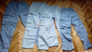 4 ženske radne pantalone. Tamno siva i svetlo siva. 36 i 38 broj..sve - Smederevo