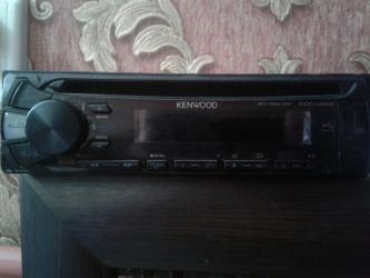 kenwood kdv mp7339 в Кыргызстан: Продаю авто магнитофон Kenwood original звук отличный состояние нового