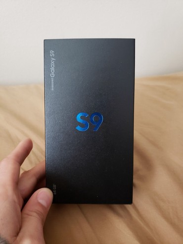 Samsung Galaxy S9 64GB Black - разблокирован новый в Душанбе