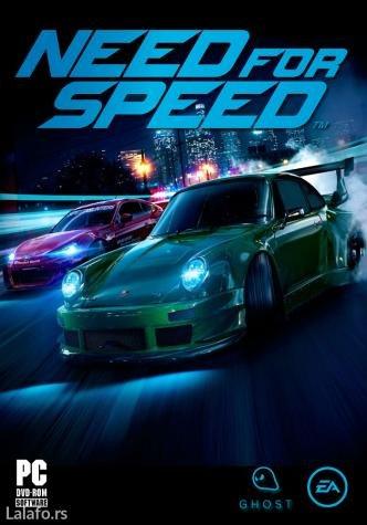 Need for Speed 2015 igra za pc (racunar i lap-top)   ukoliko - Boljevac