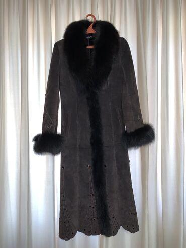 пальто женское зимнее бишкек в Кыргызстан: Дубленка женская Новая, натуральная, в отличном состоянии на