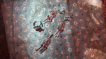 цена тир в Кыргызстан: Продается новый набор, серебро 925, кораллы, сережки, подвеска