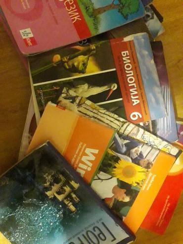 Sport i hobi - Sremska Mitrovica: Prodajem knjige za 5 i 6 razred. izdavači Logos, Klett, Gerundijum