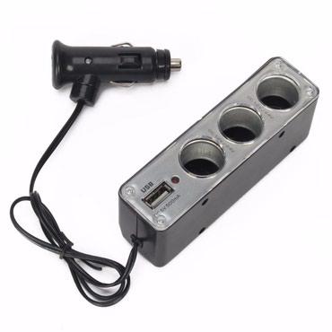 Тройник прикуривателя PDA Power WF-0096 3 sockets в Бишкек