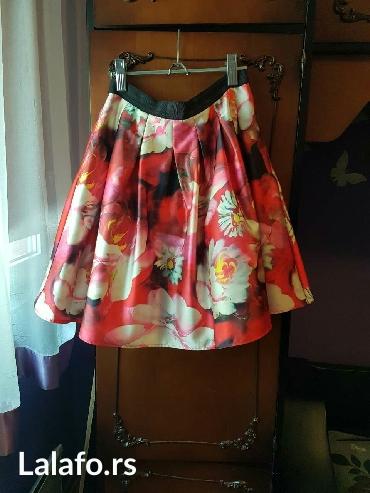Novo!!! Suknja iz francuske prelep materijal sa ziponom. - Belgrade