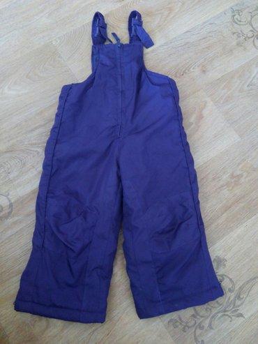зимние штаны на девочку.Цвет фиолетовый.На два года.Состояние очень хо в Бишкек