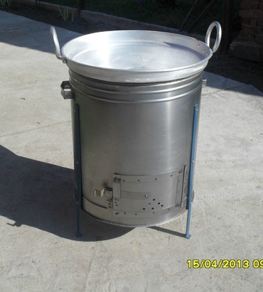 Proizvodim i prodajem aluminijumske kazane od 60 l za topljenje masti - Jagodina