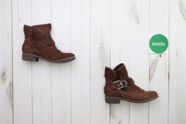 Жіночі замшеві черевички демі, р. 38    Довжина підошви: 25 см Висота