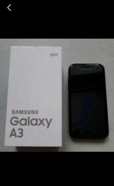 Samsung-m - Кыргызстан: Samsung Galaxy A3 2017 состаяние идеаль, Комплект