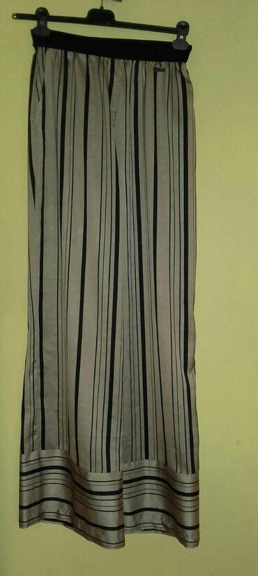 Maskirne pantalone - Vrnjacka Banja: PS fashion siroke pantalone, dva puta su obucene, velicina 42