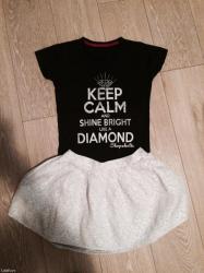 Ženska odeća | Palic: Moderne za malo para!!! Beneton suknja 1500,shopaholic majca unikat
