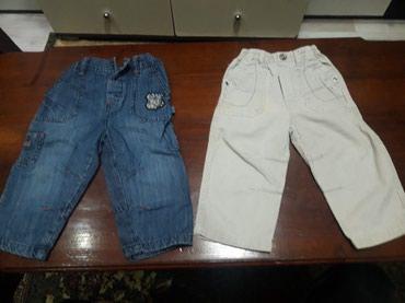 2 para pantalonice farmerke br.1.cena je za oba para. - Zagubica