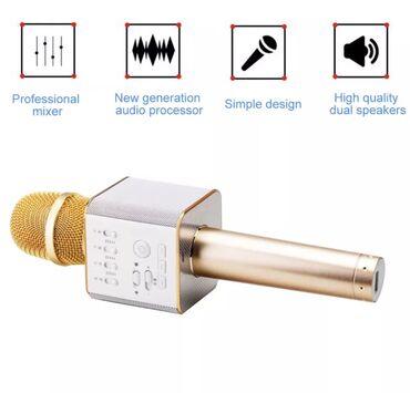 Mikrofoni   Srbija: Mikrofon bezicni najnoviji model Q9 za 2020! ! ! !  U sebi ima ugradj