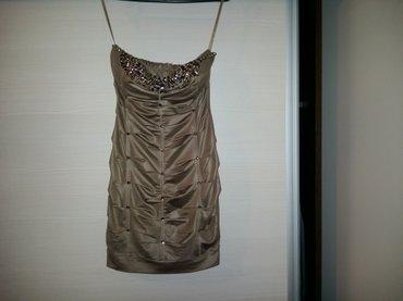 Top haljina sa cirkonima. Prati liniju tela, od rastegljivog je - Novi Sad - slika 2