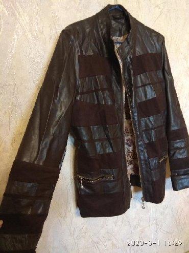 sportivnye kostjumy muzhskie xl razmer в Кыргызстан: Демисезонная куртка, из кож.зам. размер 46-48. В идеальном состоянии