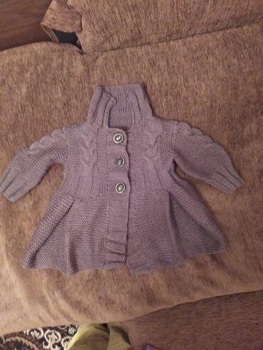 Пальто-платье для девочки. Ручная работа. Новое. На возраст 2-3 года