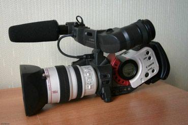 Продам видео камера Canon DM-XL1E камера в хорошем состоянии в Душанбе - фото 2
