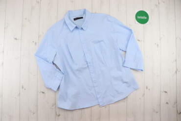 Рубашки и блузы - Цвет: Голубой - Киев: Жіноча сорочка M&S, р. XXL   Довжина: 64 см Ширина плеча: 43 см Ру