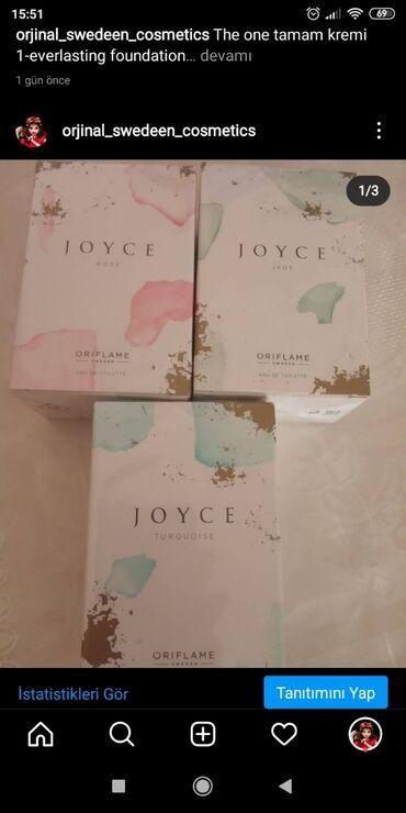 jev cosmetics - Azərbaycan: Joyce jade joyce Rose joyce qadın etirleriHər biri endirim