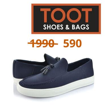 Слипоны мужские Toot Shoes&bags Артикул: 084-CM-01 Детали Цвет Си