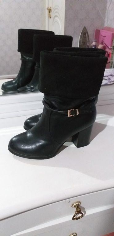 сапоги высокого качества в Кыргызстан: Кожаный сапог 37 размер