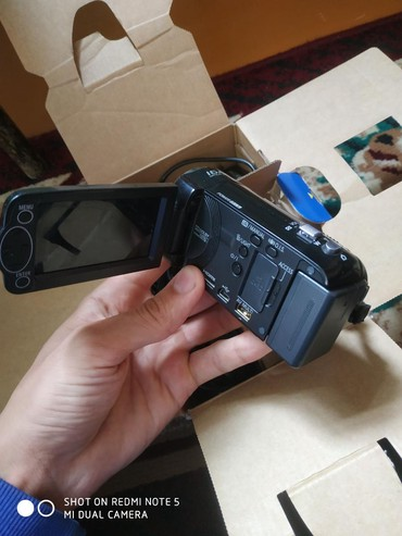 Видеокамеры в Кыргызстан: Видеокамера в хорошем состоянии все есть