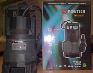 Potapajuća Pumpa za vodu Powtech 750w Germany - Subotica