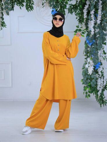 платья больших размеров каталог в Кыргызстан: Двойка Ариана ткань Бельмандо размер oversize от 44-50 спереди