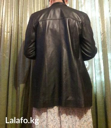 аялзат в Кыргызстан: Пиджак кожаный а в хорошем состояние размер 50. два штуки плащ и