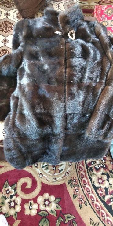 avtoledi norka в Кыргызстан: Меняю на 48 размер норковую шубу.Шуба 42-44. мех очень