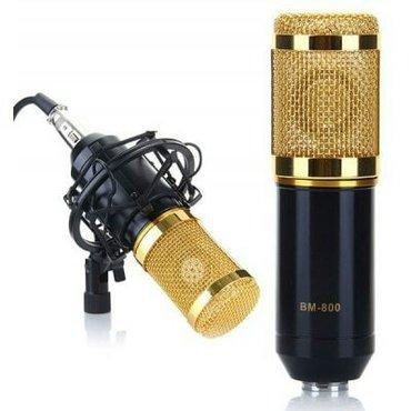 Sumqayıt şəhərində Mikrofon bm 800. Təzədi. Kondenser mikrafondu. Keyfiyyətli