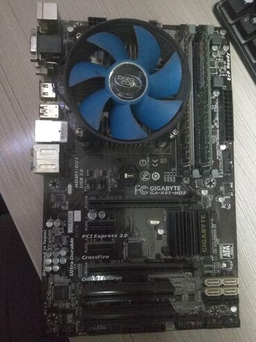 Комплект 1150   Мать h81 gigabyte- B85 Оперативки - 2штуки 4gb+4gb Dd