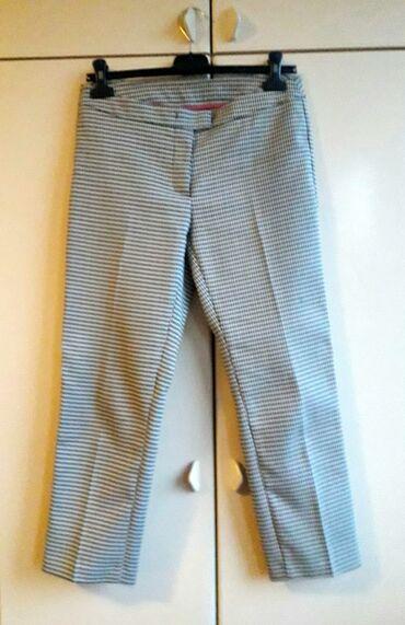 "Bele pantalone - Srbija: Benetton pepito pantalone - perfektne poslovne pantalone ""na peglu"""