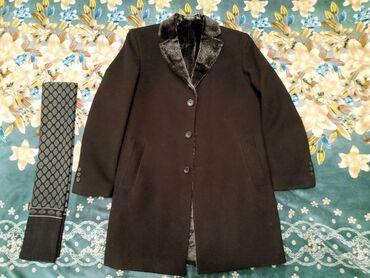 Новое пальто, кашемир. Размер 50,52 или L XL.Теплое, осенне-зимнее в