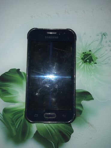 Электроника - Новопокровка: Samsung Galaxy J1 2016   8 ГБ   Синий   Трещины, царапины