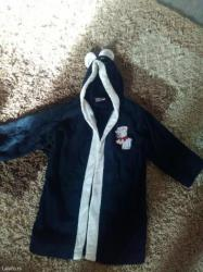 Dečiji Topići I Majice | Batajnica: Bade mantil u crnoj boji nije nosen samo je opran velicina 2-4 turske