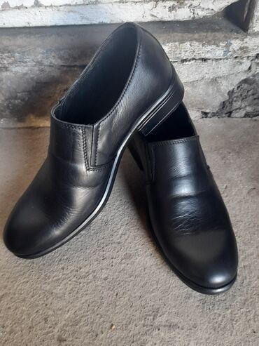 Личные вещи - Заря: Срочно продаю мужские туфли кожаные 36 размера носил только один раз