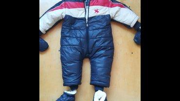весенние комбинезоны для новорожденных в Азербайджан: Брендовый комбинезон для годовалого ребенка. Практически не одевали. B