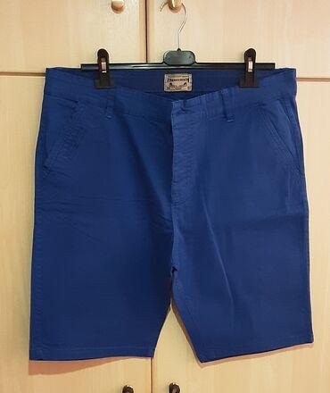 Βερμούδα, size 38, χρώμα : μπλε ηλεκτρίκ, καινούρια.Έχει τσέπες στο