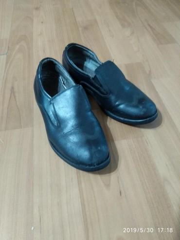 женские туфли кожа в Кыргызстан: Туфли школьные мал. кожа. 29р