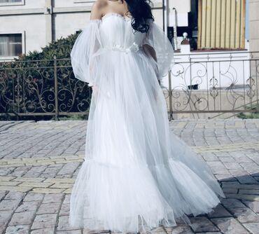 Вечерние платья, свадебные платья! Надевали 1 день!  Размер: s m  Рос