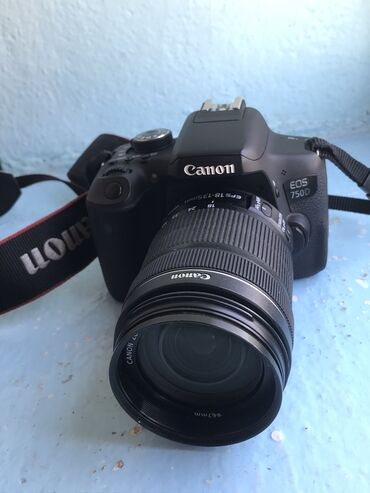 Срочно продаю фотоаппарат Canon 750d состояние под масло в комплекте с
