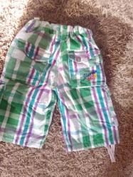 Dečije Farmerke i Pantalone | Batajnica: Bermude za decaka velicina 140-146 kao nove nisu nosene